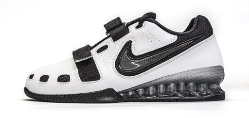 White & Black Nike Romaleos 2