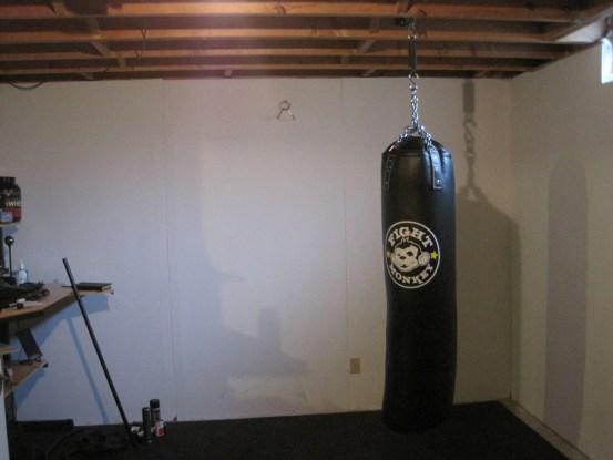 Heavy Bag In The Basement