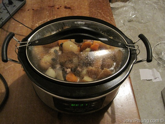 Crock Pot In The Garage
