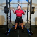 500 lb High Bar Squat