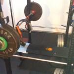 330 lb reverse grip bench press (Paused)
