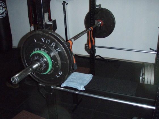 295 lb bench press