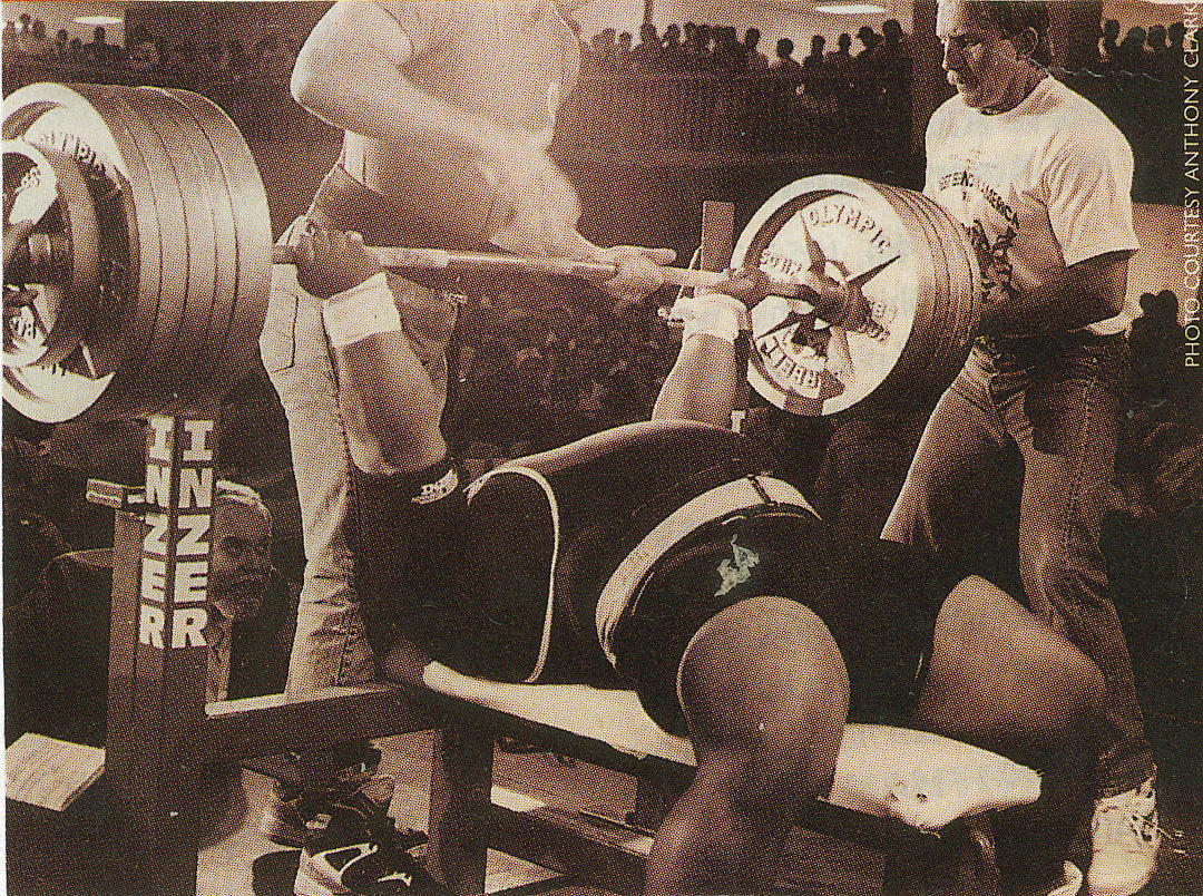 Reverse Grip Bench Press: Ironman Sports Medicine Column