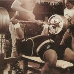 anthony clark reverse grip bench press