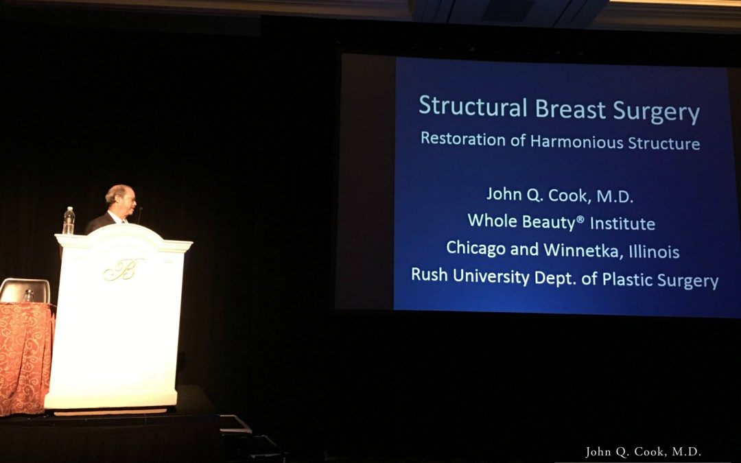 Dr. John Q. Cook Lectures at Vegas Cosmetic Surgery 2017
