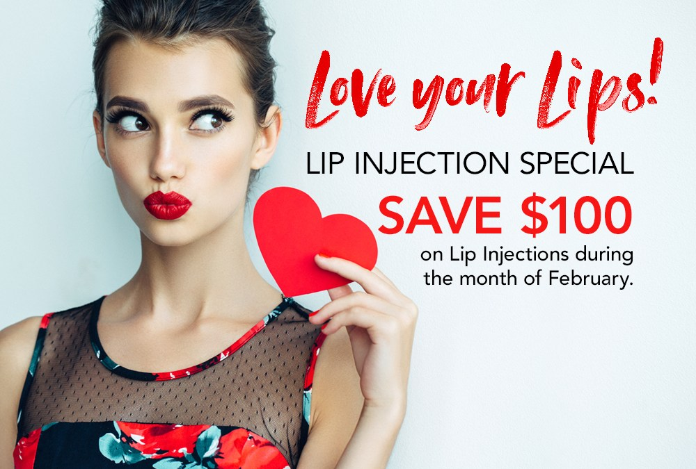 Love your Lips! Lip Injection Special!