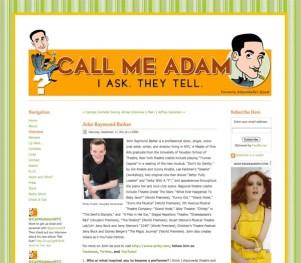 CallMeAdam2011