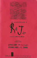 program for Shakespeare's R & J