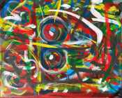 """No. 2366. """"Going Home Series: Angels in Transition 3"""" Available $1,500."""