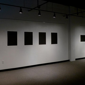 john ros drawing installation, into the void, 2011