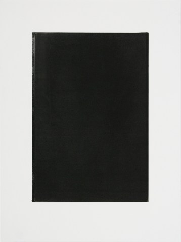 john ros, untitled diptych (black), 2005-2010