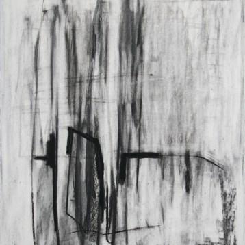 john ros, untitled charcoal, 2008