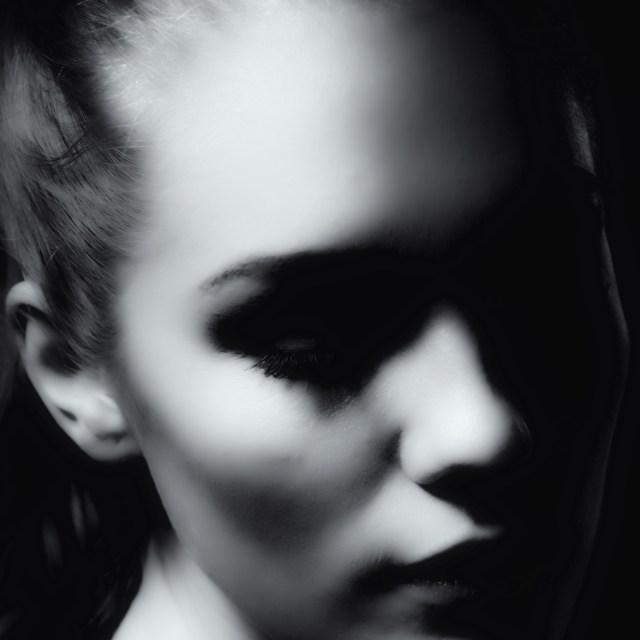 svartvit porträtt fotografering