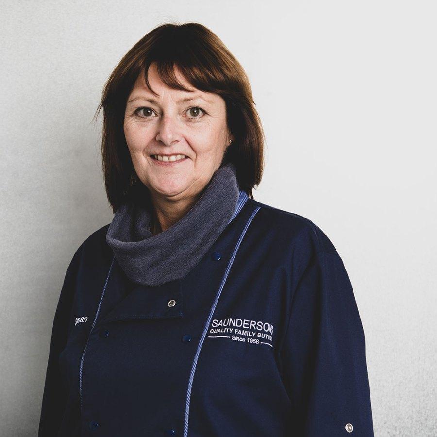 Susan Saunderson Saunderson's Quality Family Butcher Edinburgh