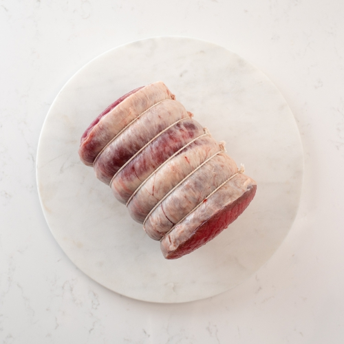 Scotch beef rolled brisket Saunderson's Edinburgh butcher