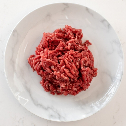 Scotch beef steak mince Saunderson's Edinburgh butcher