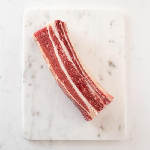 Scotch beef short rib Saunderson's Edinburgh butcher