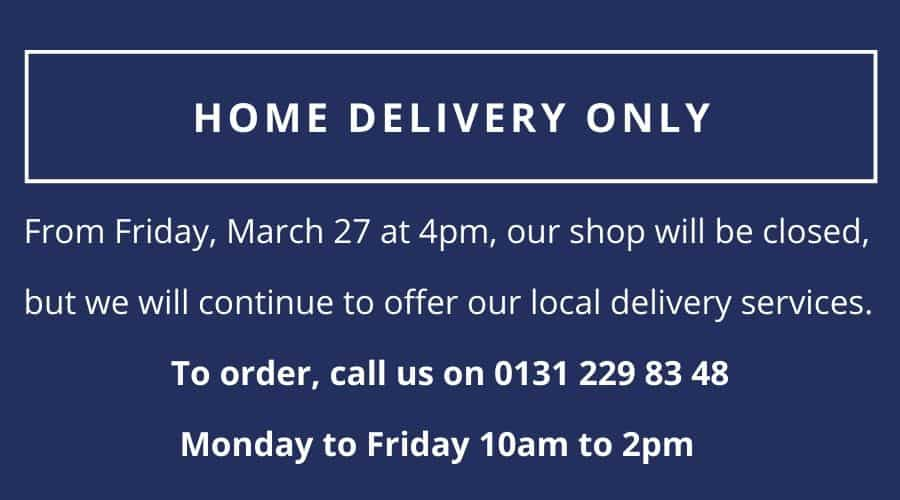 Home Delivery Only from March 28