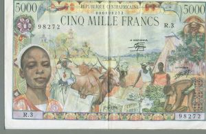 CAR 5000 Franc Note (2)