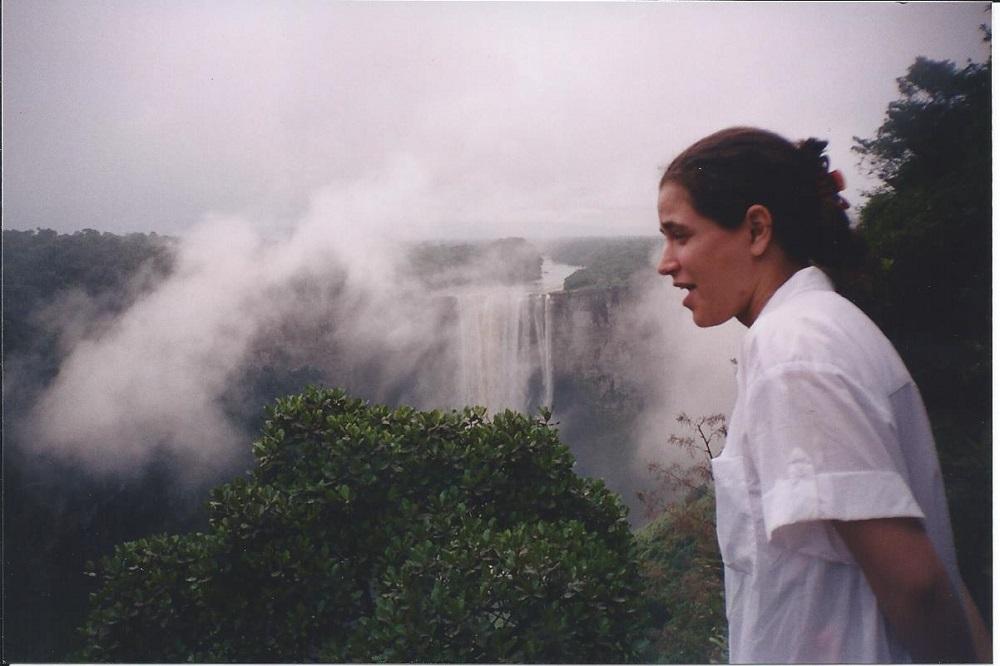 Admiring the falls1a