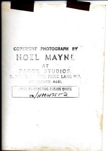 Noel Mayne Audrey