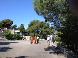 Tourist Boudha Monks-a