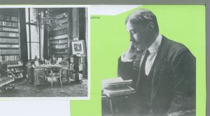 Maarten Maartens and his study