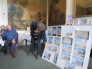 Michiel presenteert walschildering-a