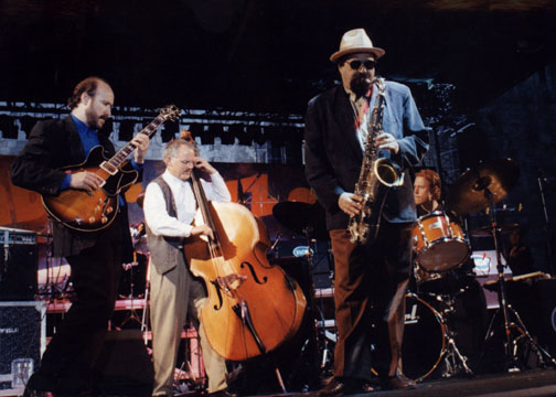 with Dennis Irwin, Joe Lovano, Bill Stewart