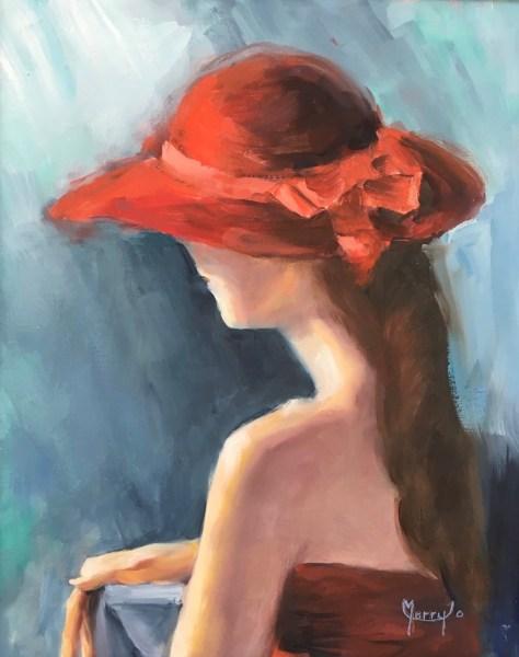 Annie In A Red Hat Merry Jo Bertalucci