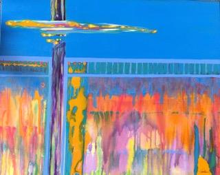 Cross, Cross Pollination  Jeannie Fortin