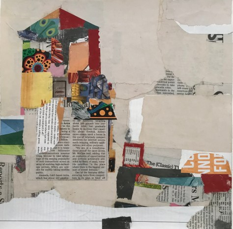 All the News That's Fit to Collage 3 Diane Clark