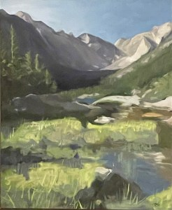 Frances Hoyt Mountain Stream