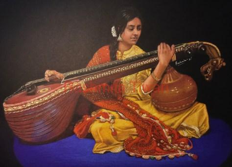 Rashmita Tiwari Veena Player