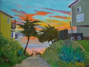 Larry Wills Isla Vista Walk
