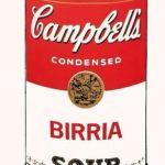 Benito Del Aguila Tropicalization Warhol Series Birria Soup