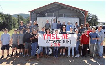 local high school boys - YMSL North Fulton Gives Back
