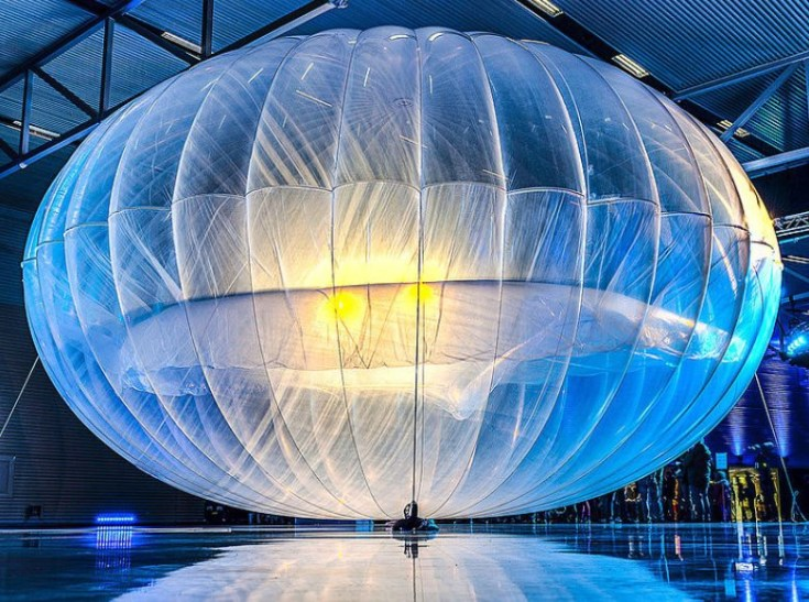 Google Project Loon - Photo Courtesy of Doug Coldwell on Wikimedia Commons