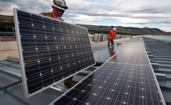 Solar Power System Installation—Photo courtesy U.S. Department of Energy