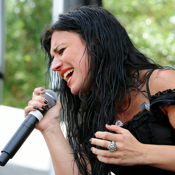 photo of Christina of Lacuna Coil by John Shippee Photography