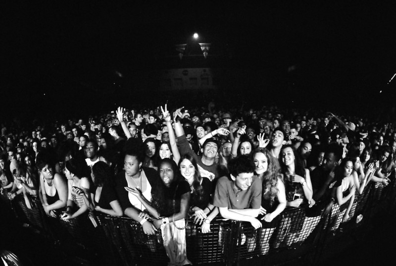 Pic of Sold out crowd at Wiz Khalifa show. Photo by John Shippee Photography