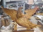 Large Bellamy Eagle--Finishing Up