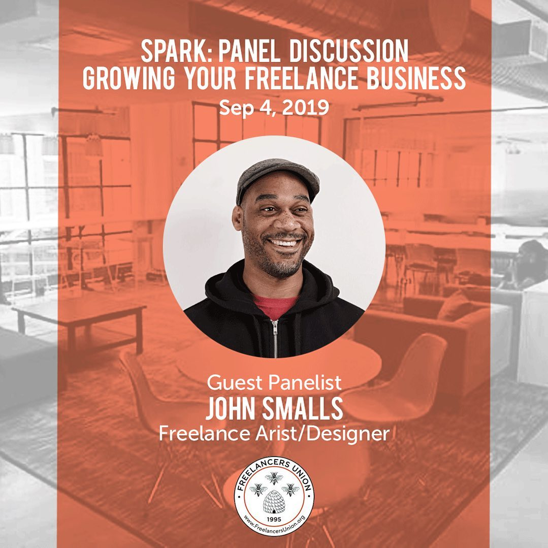 I'll be speaking about growing a freelance business next Wednesday. This is a free event! RSVP @sparkbklyn Brooklyn #Freelancers Union SPARK: Expert Panel Discussion: Growing your freelance business Freelancers Union* Wednesday, September 4, 2019 from 6:30 PM to 8:30 PM Brooklyn, NY