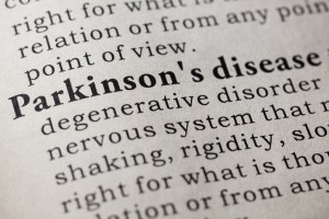 Image containing the definition of Parkinson's disease