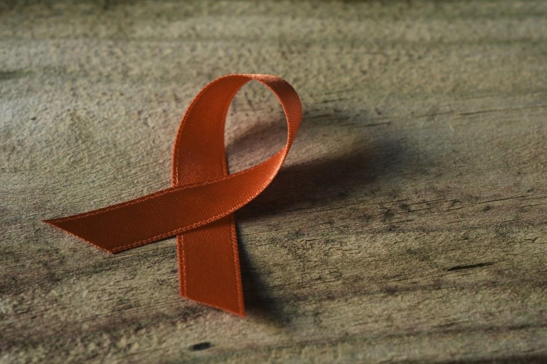multiple sclerosis orange ribbon