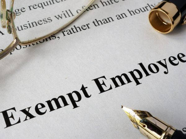 exempt employee wage hour overtime flsa lawyer.