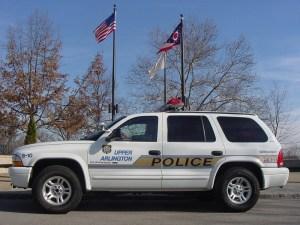 Upper Arlington Police Car