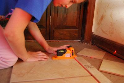 40 6616 tile laser flooring laser