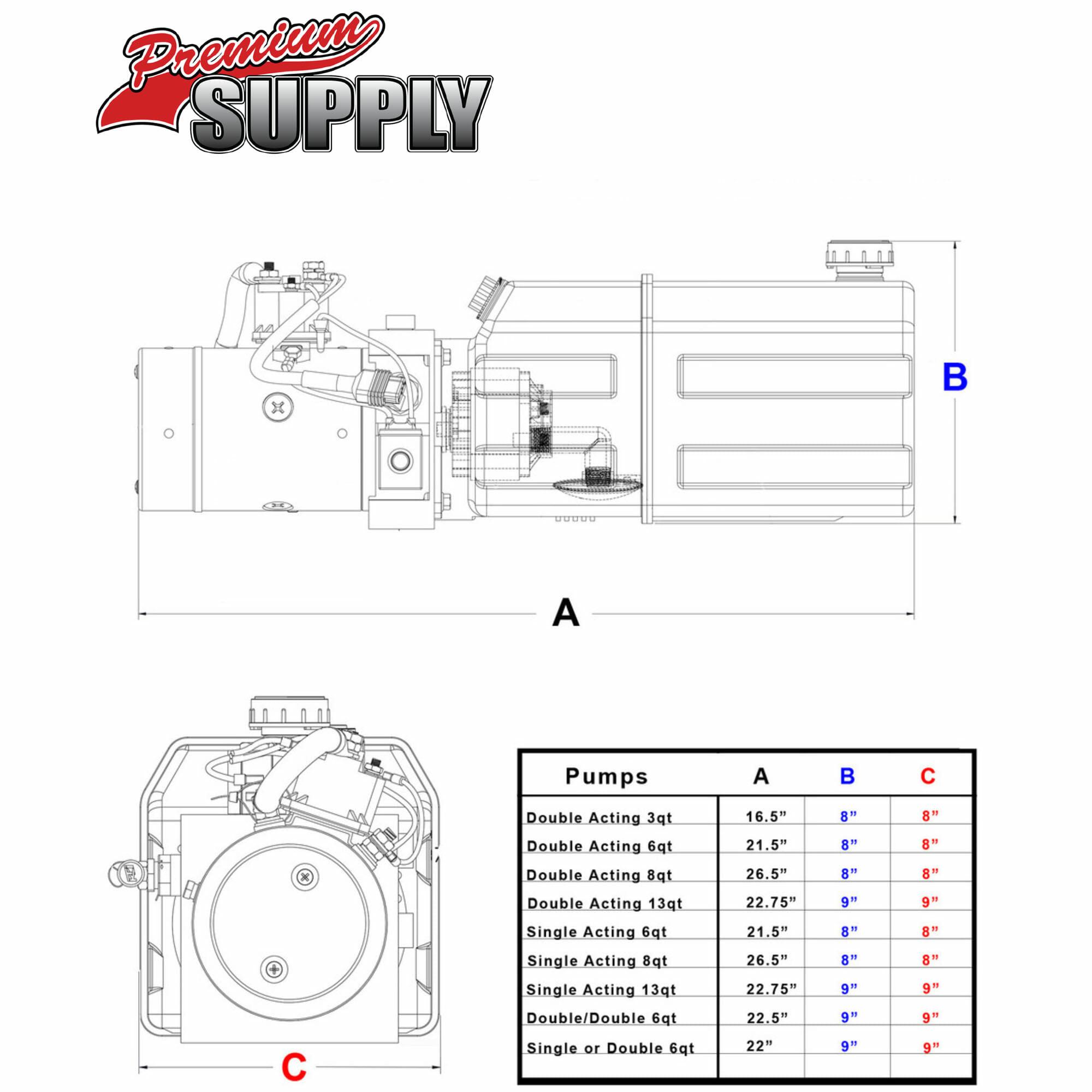 3 hydraulic pump wiring diagram
