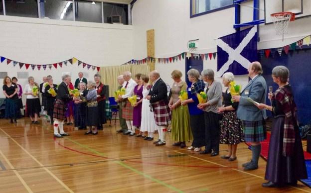 Johnsonville Scottish Country Dance Club past and present tutors